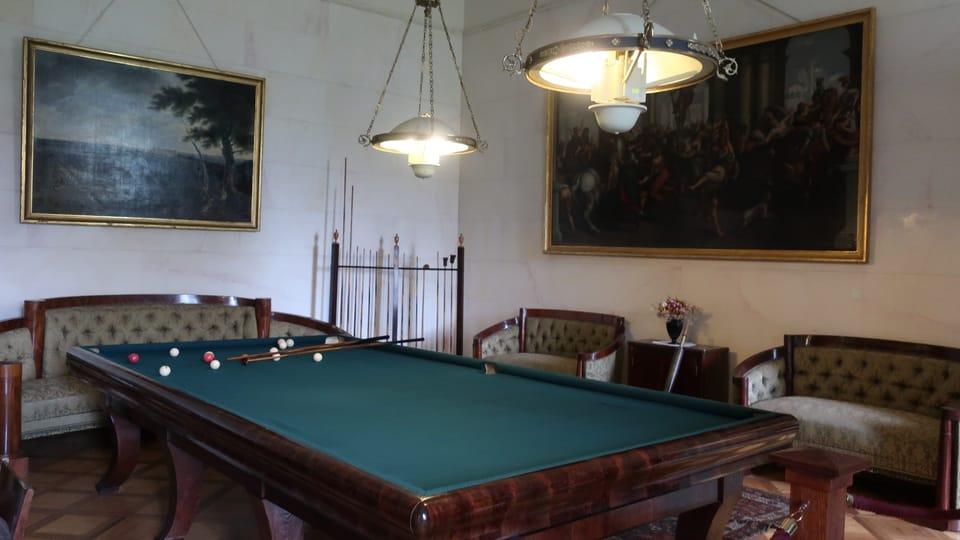 L'intérieur du château de Kynžvart,  photo: Martina Schneibergová