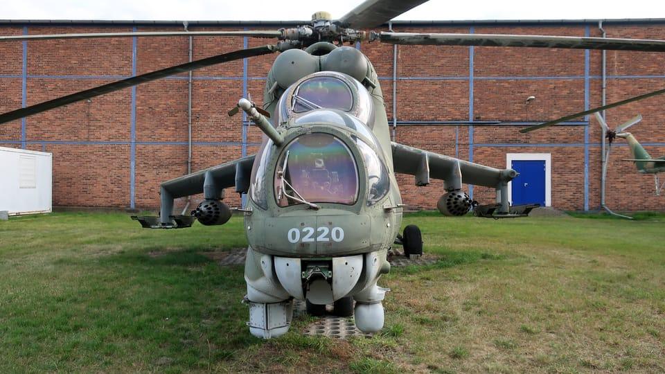 Hélicoptère d'attaque soviétique Mil Mi-24 Hind,  photo: Štěpánka Budková
