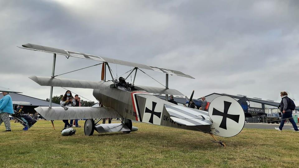 Un Fokker triplan