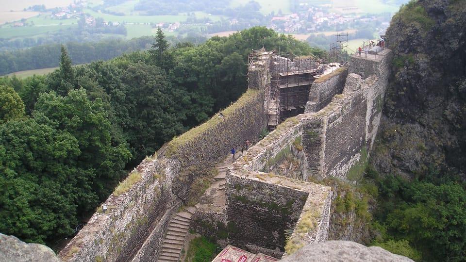 La ruine du château fort de Trosky,  photo: Magdalena Kašubová