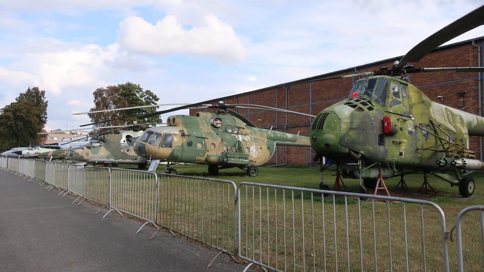 L'exposition des hélicoptères,  photo: Štěpánka Budková