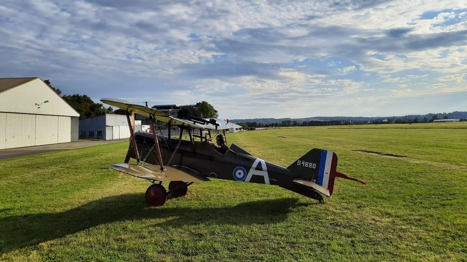 Un S.E.5 britannique | Photo: Thibault Maillet,  Radio Prague Int.