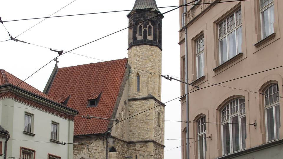 L'église Sainte-Vierge sur la pelouse,  photo: Kristýna Maková