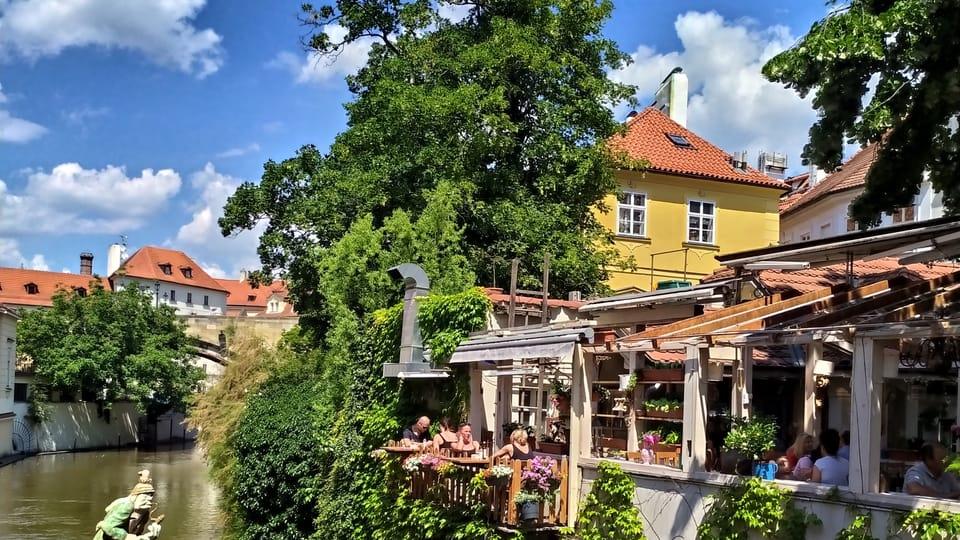 Le restaurant du canal Čertovka,  photo: Magdalena Hrozínková