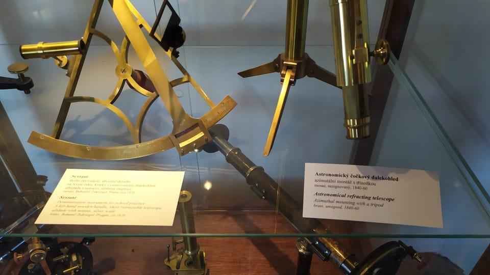 Les instruments de mesure,  photo: Magdalena Hrozínková