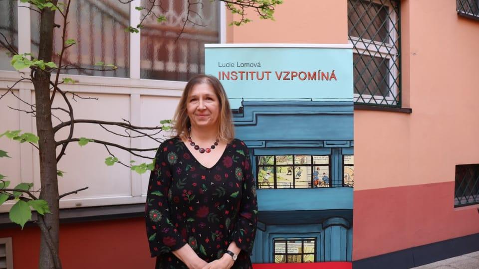 Lucie Lomová | Photo: Marion Floch,  Radio Prague Int.