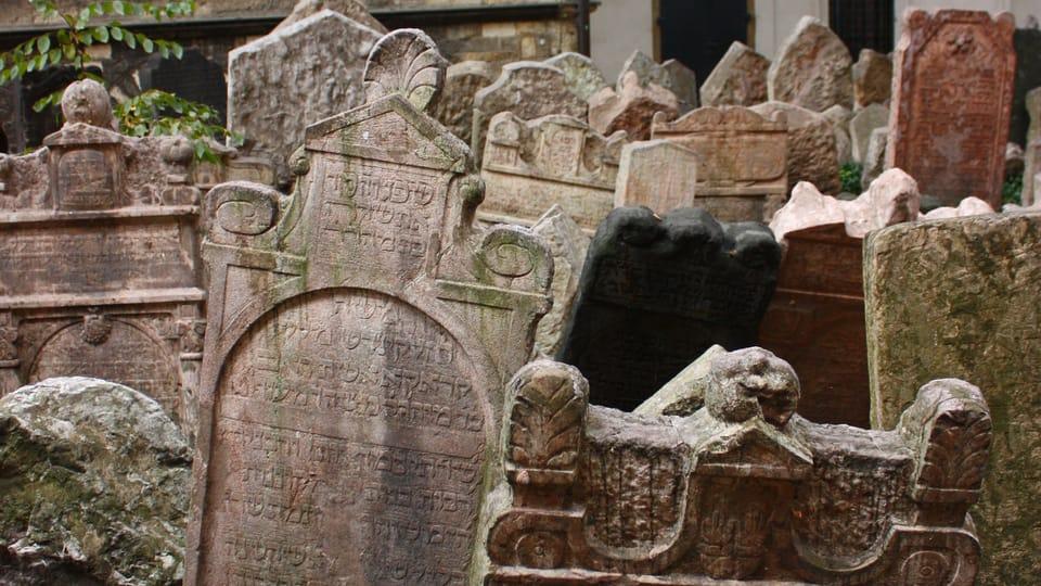 Vieux cimetière juif,  photo: Štěpánka Budková