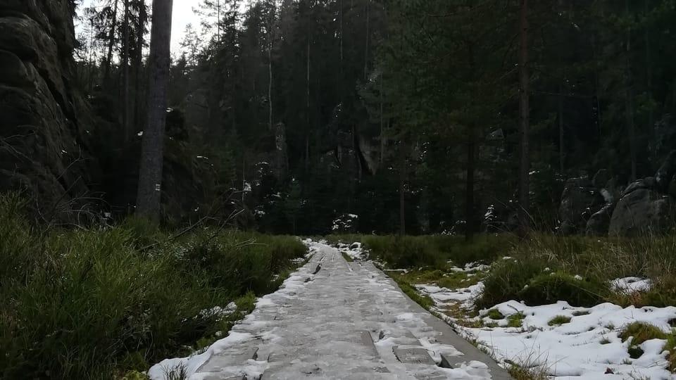 Les rochers d'Adršpach-Teplice,  photo: Joseph Le Fer