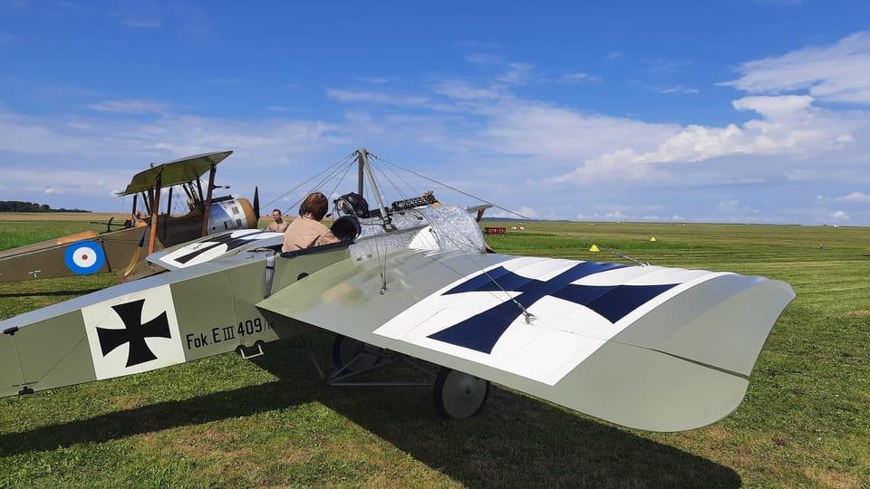 Un Fokker monoplan | Photo: Thibault Maillet,  Radio Prague Int.