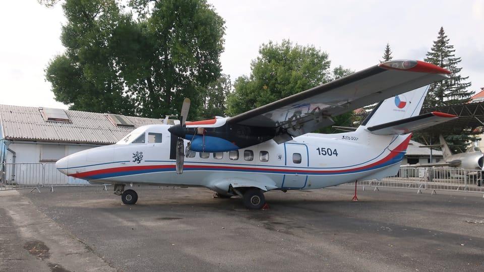Avion de transport tchécoslovaque Let L-410 Turbolet,  photo: Štěpánka Budková
