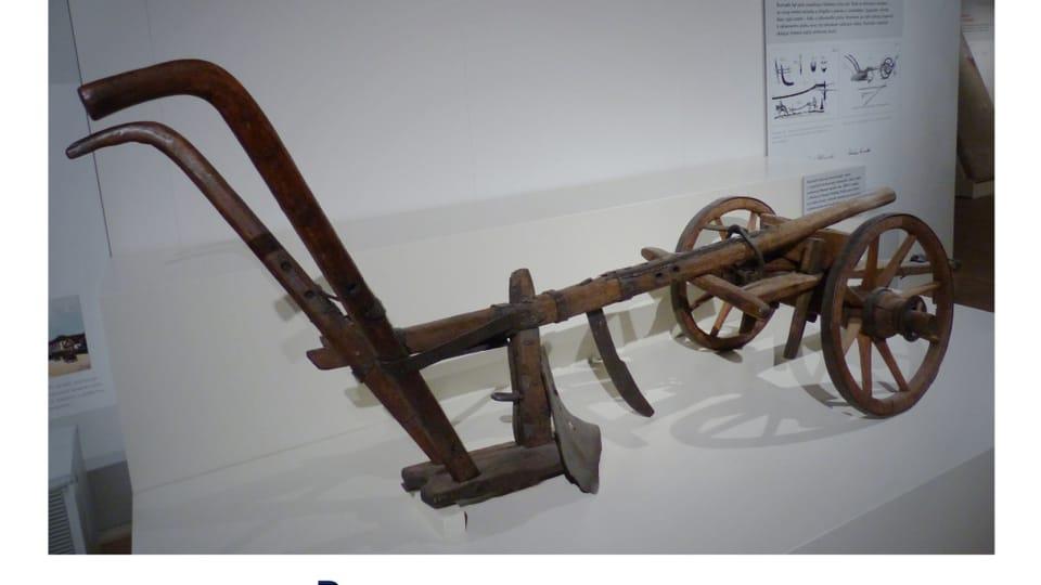 Le «Ruchadlo» des cousins Veverka – Charrue agricole datant de 1827