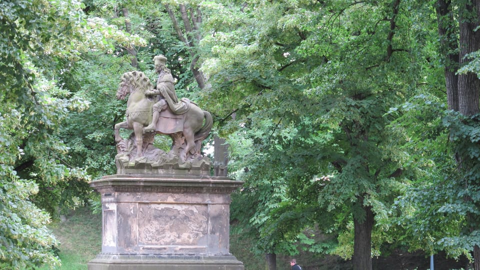 La statue de Saint-Wenceslas à Vyšehrad,  photo: Kristýna Maková