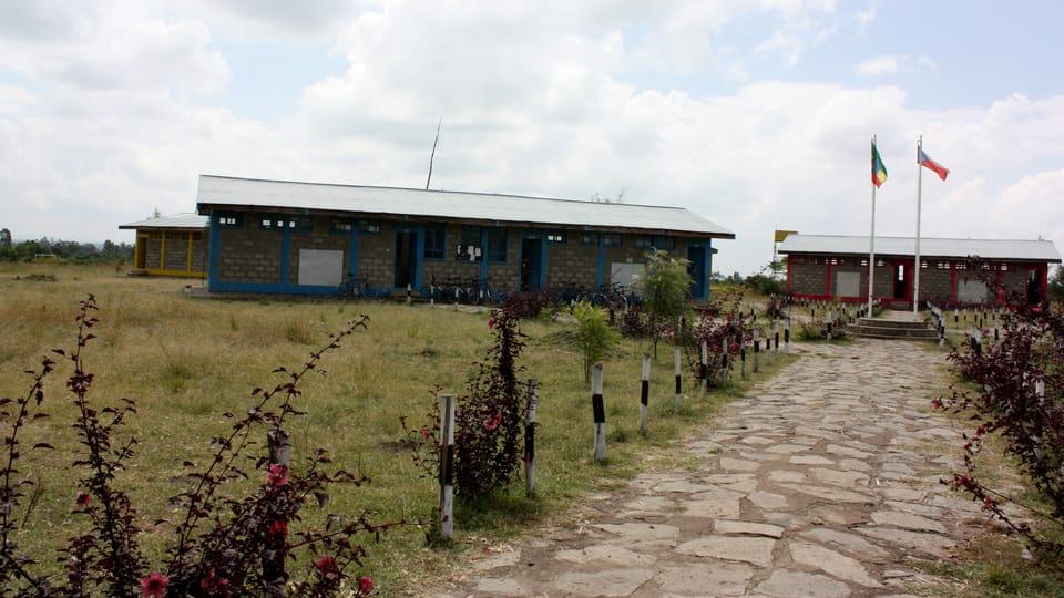 L'école experimentale à Alaba...