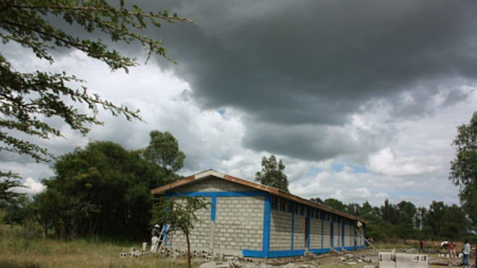 Construction d'une nouvelle école dans la région d'Alaba