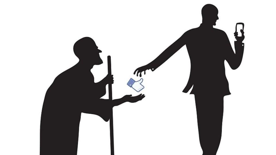 La caricature de Khalid Albaih,  photo : DOX