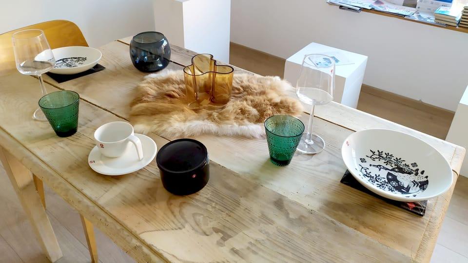 L'exposition Iittala,  photo: Magdalena Hrozínková