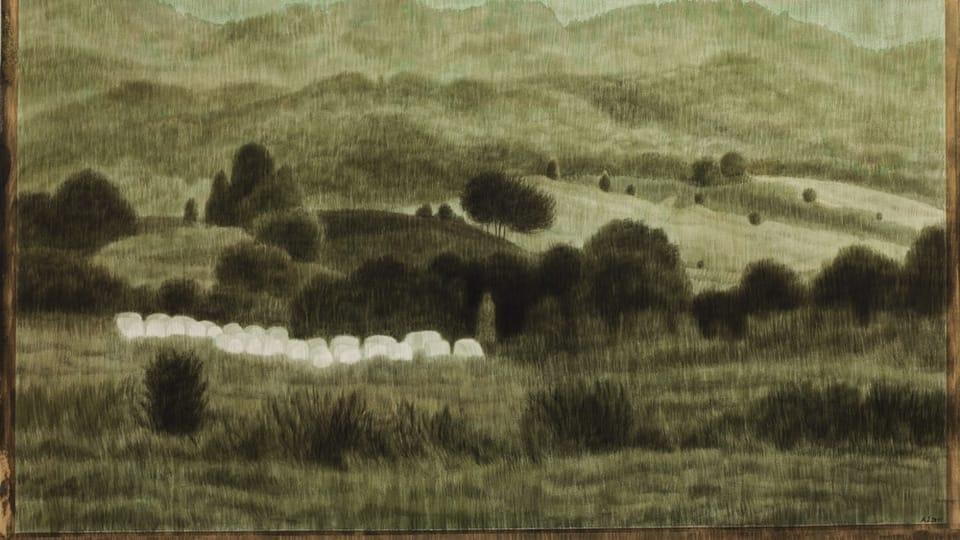 'Ballots au paysage',  photo: Archives d'Alžběta Skálová