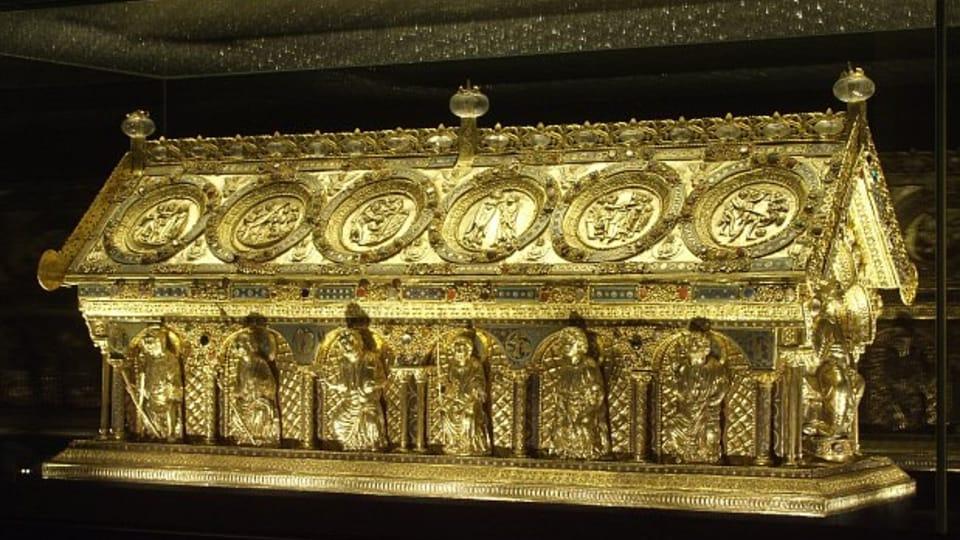 Le reliquaire de Saint-Maur,  photo: Archives de NPÚ