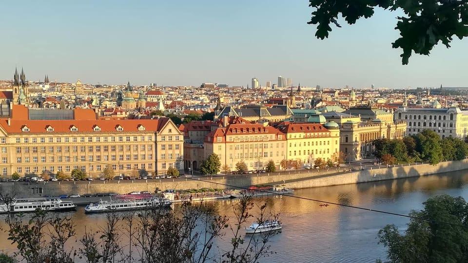 Tatiana-Mosio Bongonga à Prague,  photo: Colin Gruel