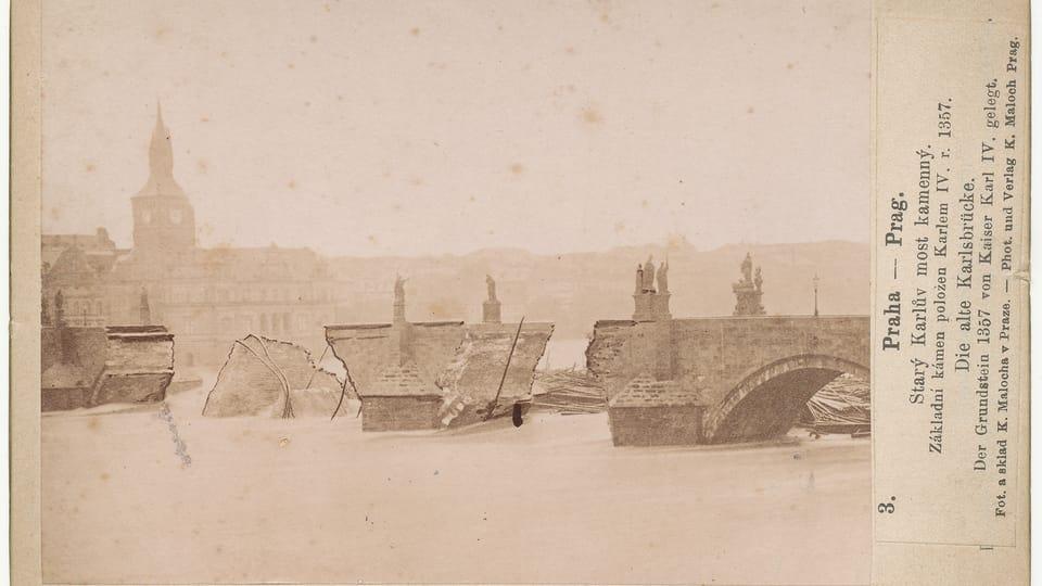 L'inondation en 1890,  photo: Karel Maloch,  CC BY-SA 4.0