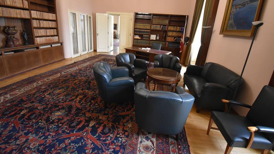 L'appartement de Jan Masaryk au palais Černín,  photo: Ondřej Tomšů