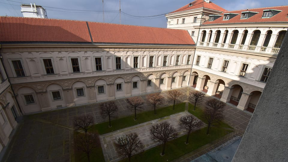 Le Palais Černín  (Černínský palác),  photo: Ondřej Tomšů