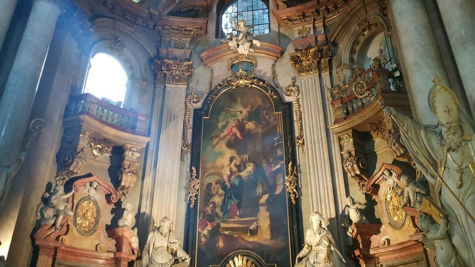 L'église Saint-Nicolas à Malá Strana,  photo: Bohumil Šimčík