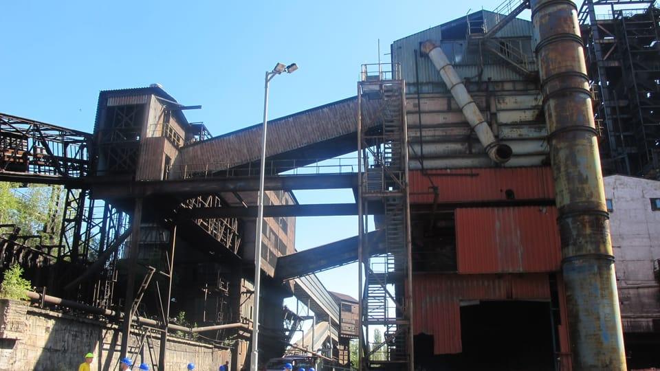 L'ancien complexe industriel de Dolní Vítkovice,  photo: Guillaume Narguet