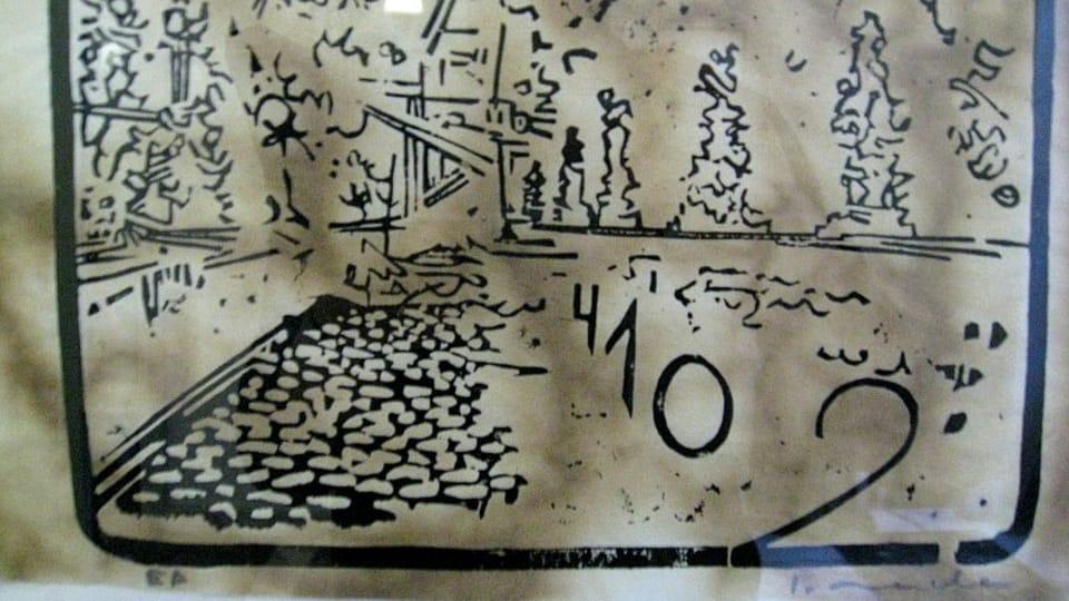 L'exposition de gravures sur bois de Samuel Moucha,  photo: Denisa Tomanová