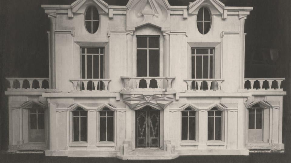 Raymond Duchamp-Villon,  'La maison cubiste',  1912