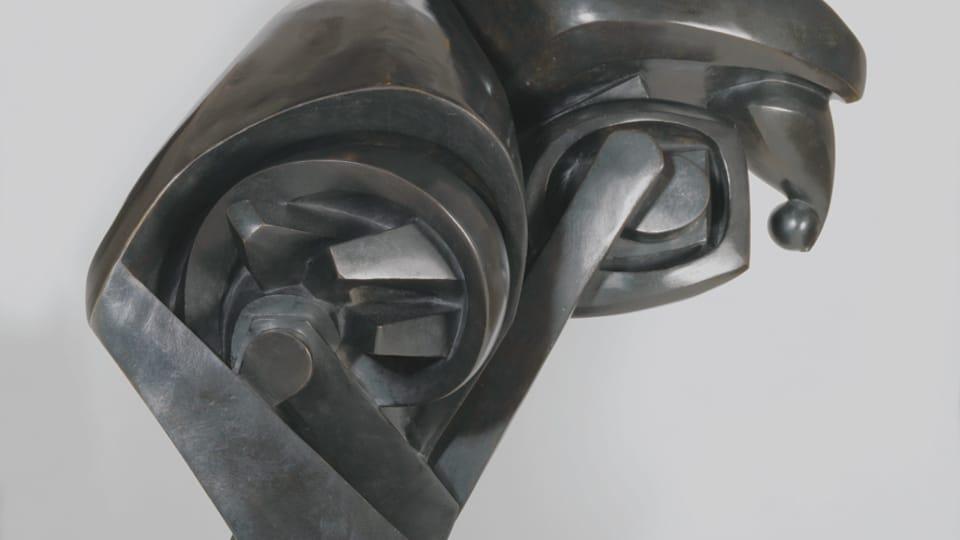 Raymond Duchamp-Villon,  'Le grand cheval',  1914,  photo: Centre Pompidou - Musée national d'art moderne,  Paris
