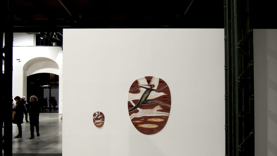 Exposition de František Skála Deux années de vacances à la FAIT Gallery de Brno,  photo Martin Dašek