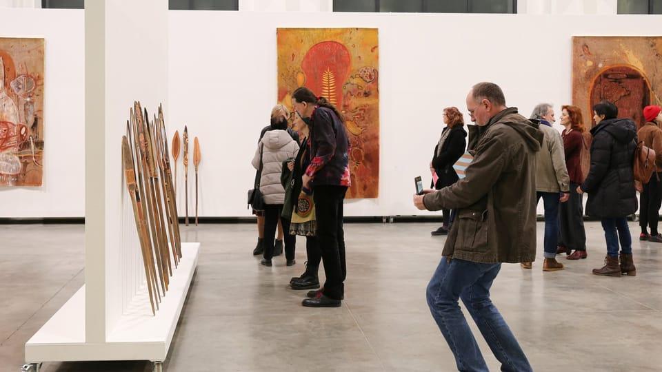 Exposition de František Skála Deux années de vacances à la FAIT Gallery de Brno,  photo Eliška Mikšová