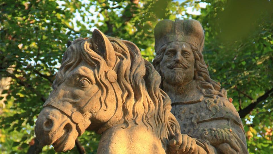 Le saint est représenté sous les traits de l'empereur Ferdinand III.,  photo: Barbora Němcová