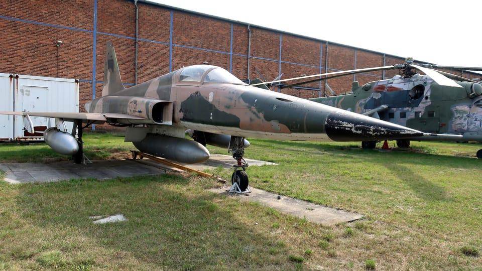 Avion de chasse américain Northrop F-5E Tiger II,  photo: Štěpánka Budková