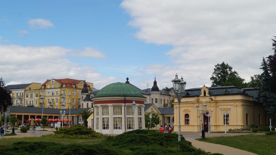 La ville thermale de Františkovy Lázně,  photo: Miloš Turek