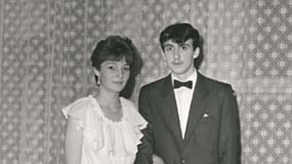 Sona Fronkova avec son ami au bal  (1987)
