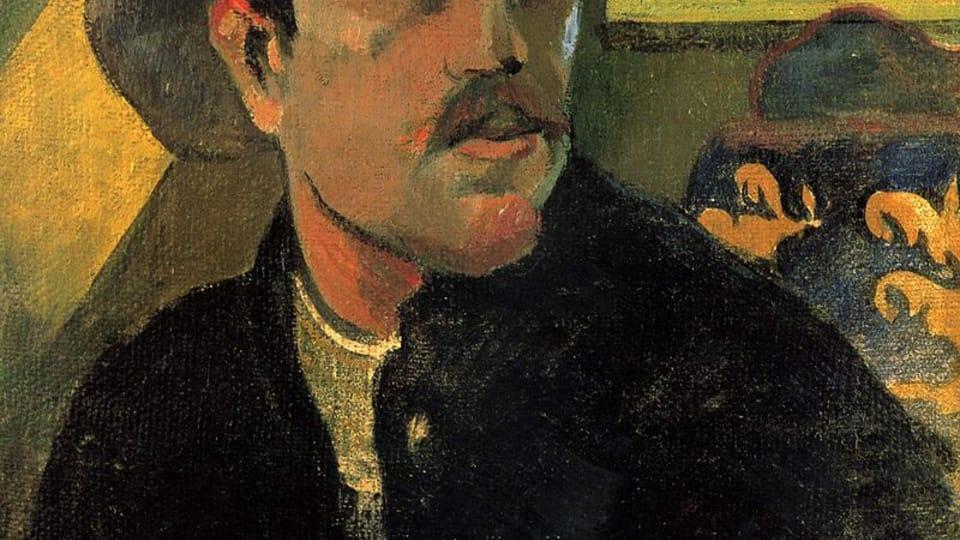 Paul Gauguin: Autoportrait,  1893,  photo: public domain