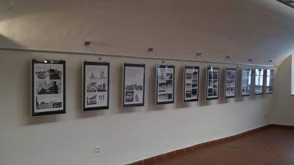 L'exposition de 'La Guerre d'Alan',  photo: Miloš Turek