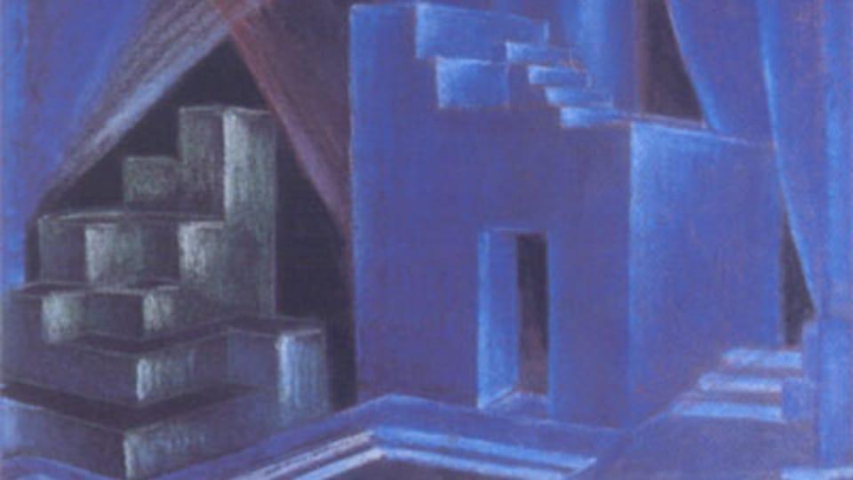 Vl. Hofman: Décors pour Antigone de Sophocle