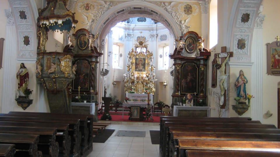 L'intérieur de l'église conventuelle,  photo: Barbora Kmentová