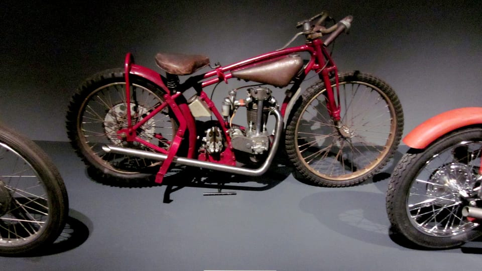 Moto Jawa 350 OHV,  1935,  photo: Anaïs Raimbault