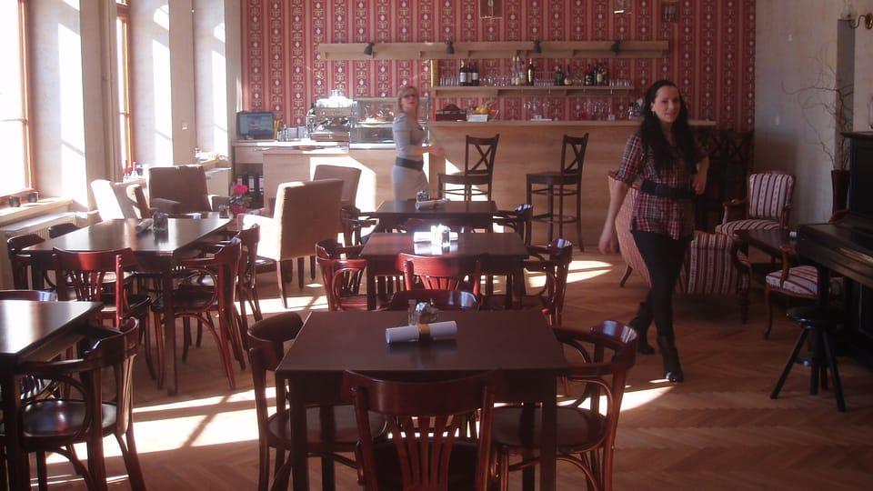 Café Nebespán,  photo: Magdalena Hrozínková