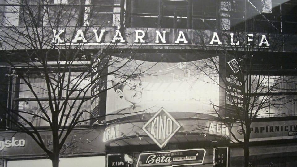 Le cinéma 'Alfa',  photo: Alžběta Ruschková