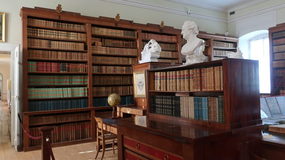 La bibliothèque,  photo: Martina Schneibergová