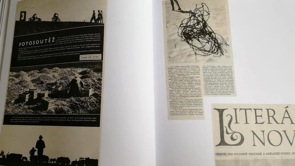 Josef Koudelka,  photo: repro Koudelka,  Návraty / Kant