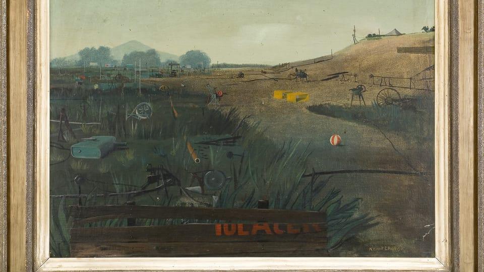 'Le paysage réanimé par des machines',  1944
