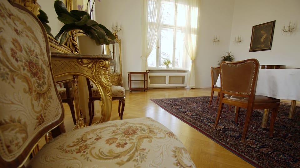 La villa Kramář,  photo: Ondřej Tomšů