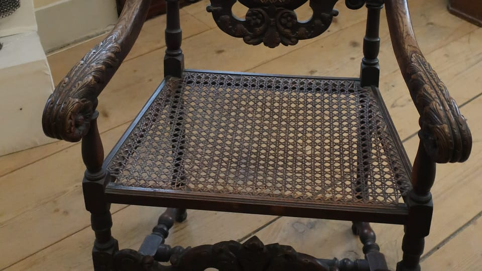 Le fauteuil d'Alexandre Dumas,  photo: Martina Schneibergová