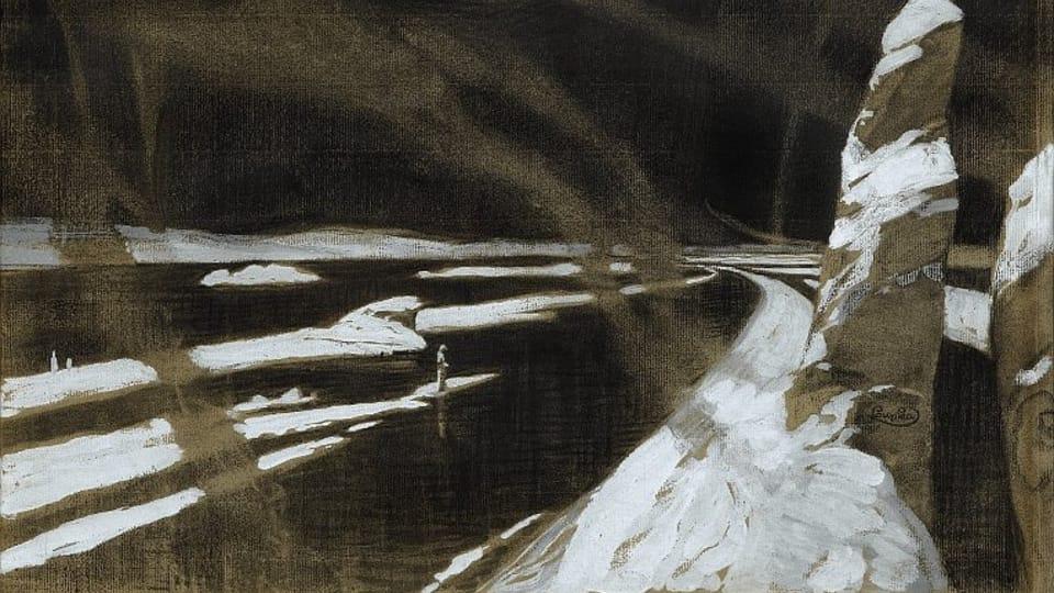 František Kupka,  'Défi  (Idole noir)',  1902 / Centre tchèque de Paris